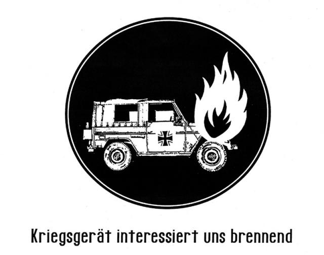 Kriegsgerät interessiert uns brennend